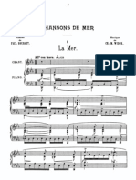 Charles Marie Widor  - 14 Chansons - Vocal