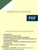 DISEÑO DE CANALES