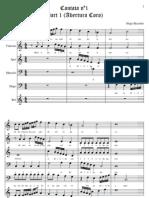 Cantata n.1 Com Letra