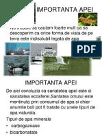 Poluarea Apei Si Efectele Poluarii Apelor
