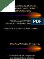 Presup Publico Uq