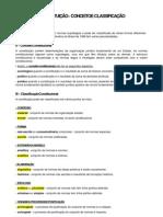 CONSTITUIÇÃO - CONCEITO E CLASSIFICAÇÃO