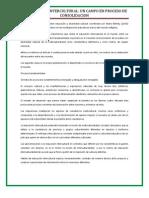 REPORTE DE TEXTO LA EDUCACION INTERCULTURAL UN CAMPO EN PROCESO DE CONSOLIDACION..docx