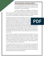 REPORTE DE LECTURA TEORIA SOBRE EL BILINGUISMO Y SEGUNDA LENGUA..docx