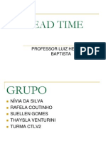Grupo 1 Turma 2 Lead Time