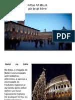 Presentación navidad en italia