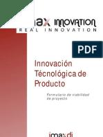 formulario viabilidad innovacion producto