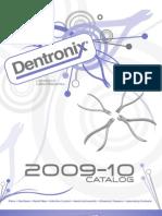 Dentronix 2009-10 Catalog NO Prices