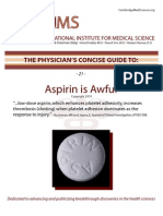 Aspirin is bad for you