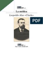 Alas Clarín, Leopoldo - La Médica