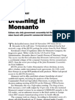 Dreaming in MONSANTO