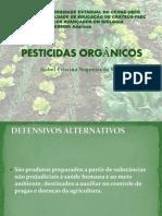 PESTICIDAS ORGÂNICOS