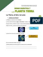 8El Planeta Tierra (Unidad 7)