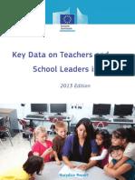 Key Data on Teachers and School Leaders in Europe 2013