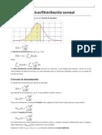 Distribucion Gaussiana