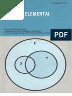 Algebra Elemental (L. Nachbin)