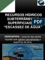Recursos Hidricos e Bacias Hidrograficas
