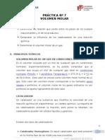 PRÁCTICA Nº7 - VOLUMEN MOLAR
