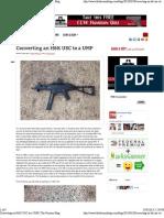 Converting an H&K USC to a UMP _ the Firearm Blog