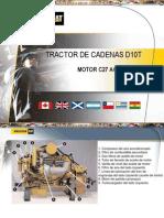 Curso Motor c27 Acert Tractor Cadenas d10t Caterpillar