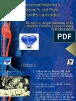 Reconocimiento y Manejo Del Paro Cardiorespiratorio