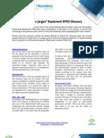 EPSO Glossary