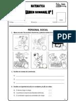 Examen de Personal Social