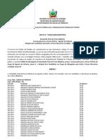 Edital 04-2013-SEAD-DeTRAN - Divulgacao Do Resultado Final Da Prova Objetiva Convocacao Para Pratica - Agente de Vistoria e Relacao Dos Advogados Que t