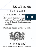 Appligny - 1783 - Instructions Sur L'Art de Faire La Biere
