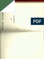 Georges Perec- Pensar Clasificar