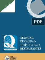 Manual de Calidad Restau