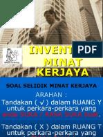 Cara Mengira Inventori Minat Kerjaya