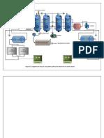 diagrama de desorción de carbón activo
