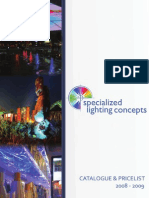 Specialized Lighting Concepts Catalogue