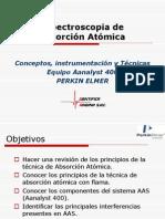 ABSORCION ATOMICA AA400