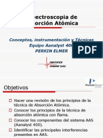 ABSORCION ATOMICA AA400
