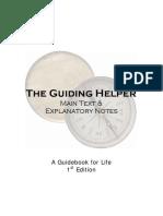 Guiding Helper - Main Text & Explanatory Notes