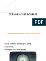 ÉTIENNE-LOUIS BOULLÉE m