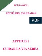 3 Aptitudes Avanzadas Acls