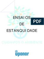 Ensaio de Estanquidade (MD)