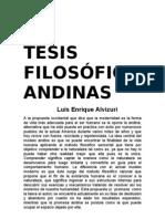 _Tesis Filosoficas Andinas -LEA