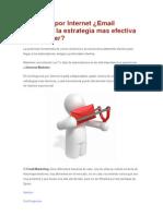 Negocios Por Internet.-email Marketing La Estrategia Mas Efectiva