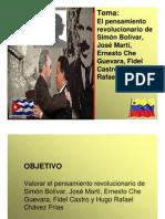 Pensamiento Revolucionario Latinoamericano