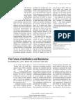 the future of antibiotics and resistance