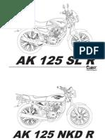 Manual AK125SL1490