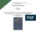 (eBook - Antroposofia - EnG) - Rudolf Steiner - The Calendar of the Soul