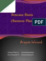 Rencana Bisnis (Business Plan).ppt