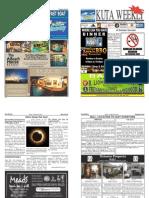 "Kuta Weekly-Edition 335 ""Bali's Premier Weekly Newspaper"""