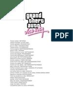 Trucos GTA Vice City