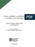 Pinch, T. and Bijker, W. (2008), La construcción social de hechos y artefactos